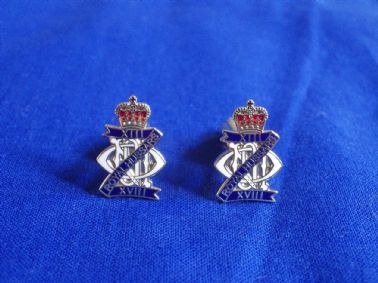 13th / 18th ROYAL HUSSARS ( QUEEN MARY'S OWN )CUFF LINKS